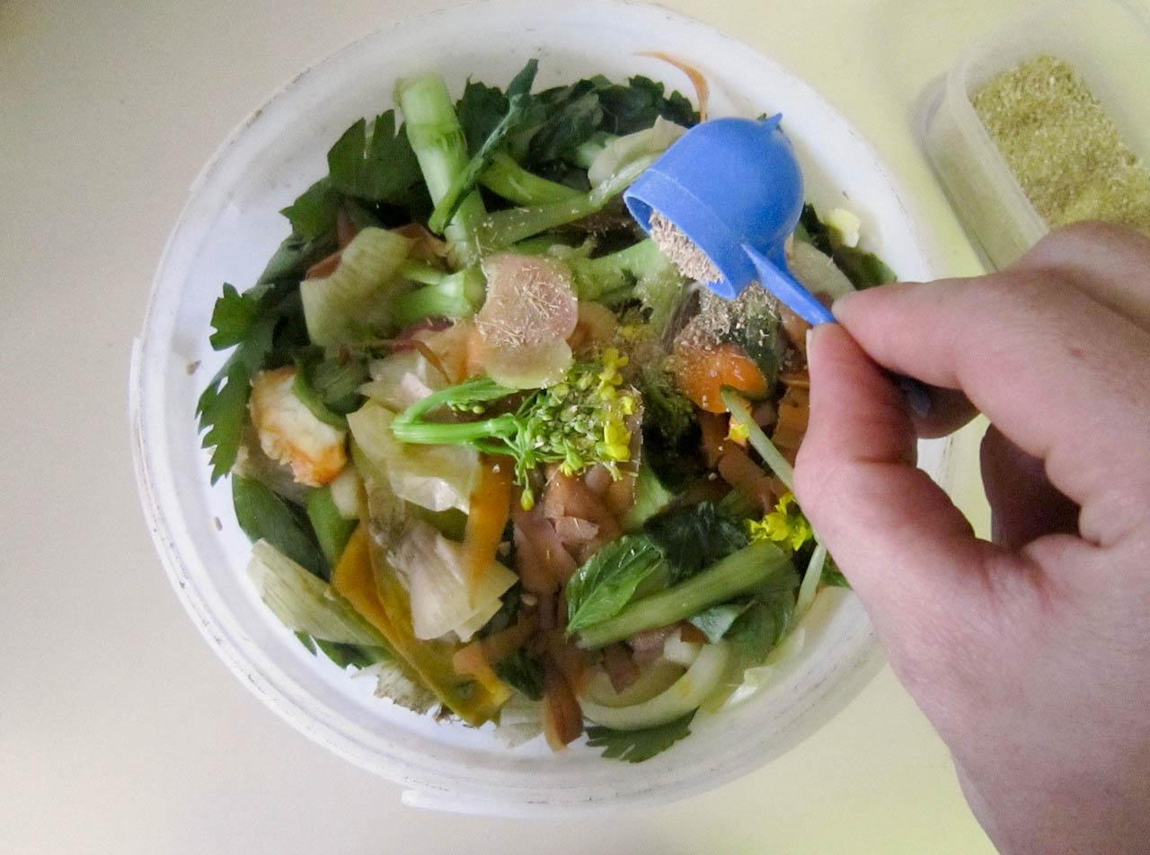 2020.08.05 Bokashi Compost Kitchen Counter (1)