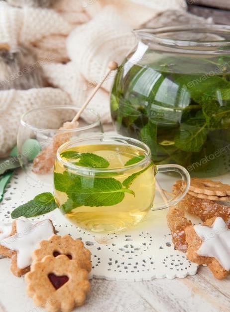 Fresh Herbs Cookies tea_3